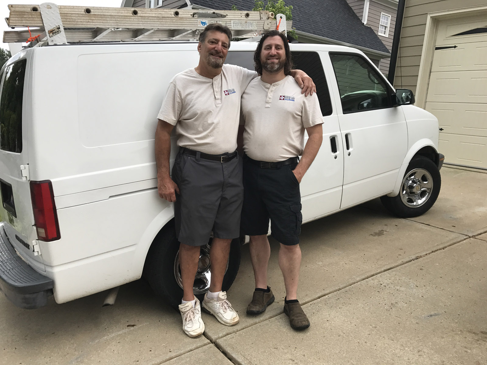 Len and Lenny Cicero of HRDair, your HVAC heating and cooling service experts