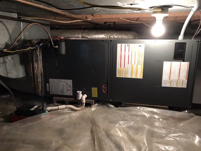 Heating and air conditioning, after replacement