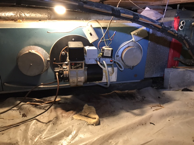 HVAC, prior to replacement