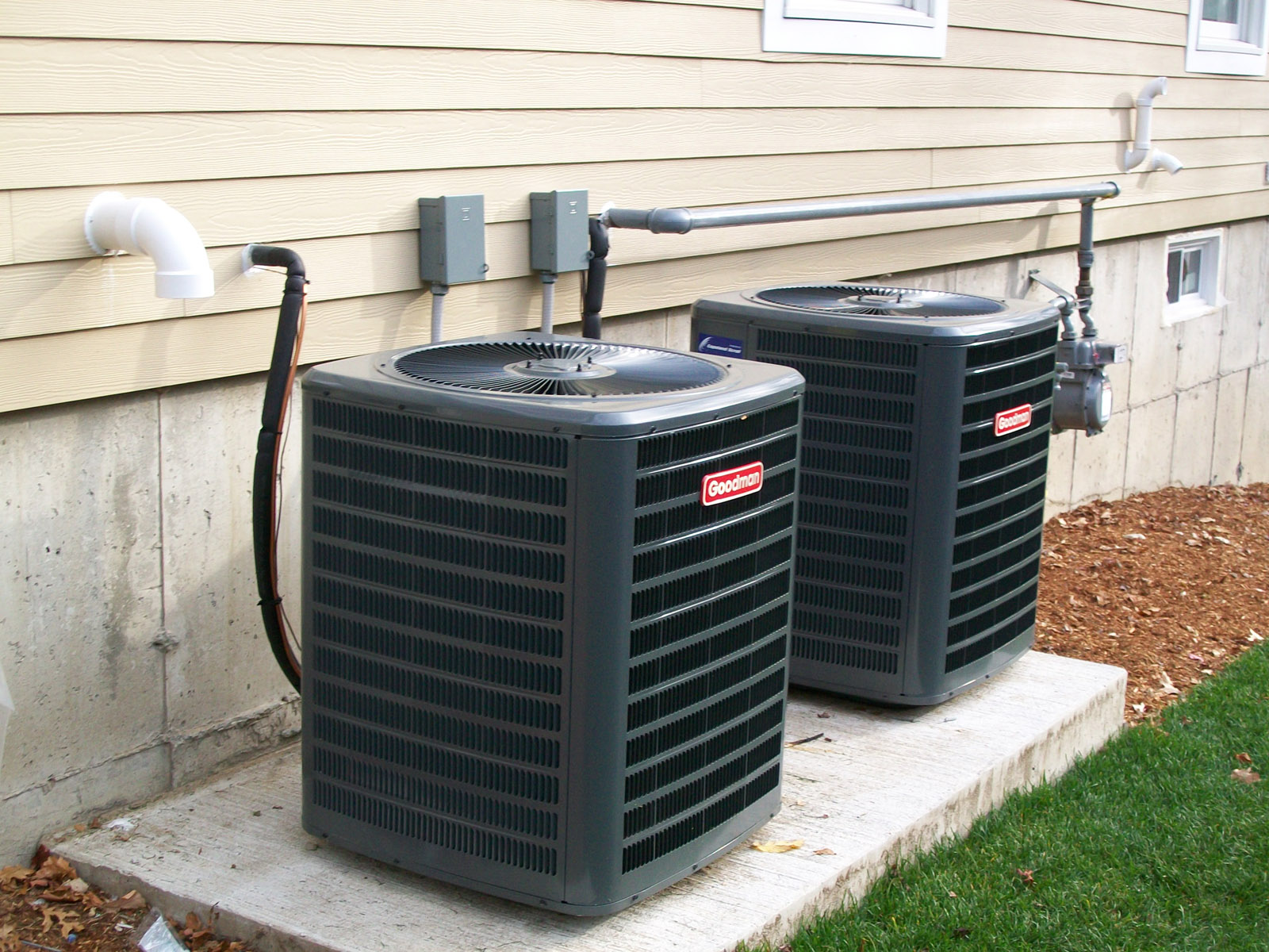Goodman heating and air conditioning systems