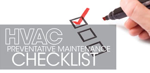 Heating and Air Conditioning checklist