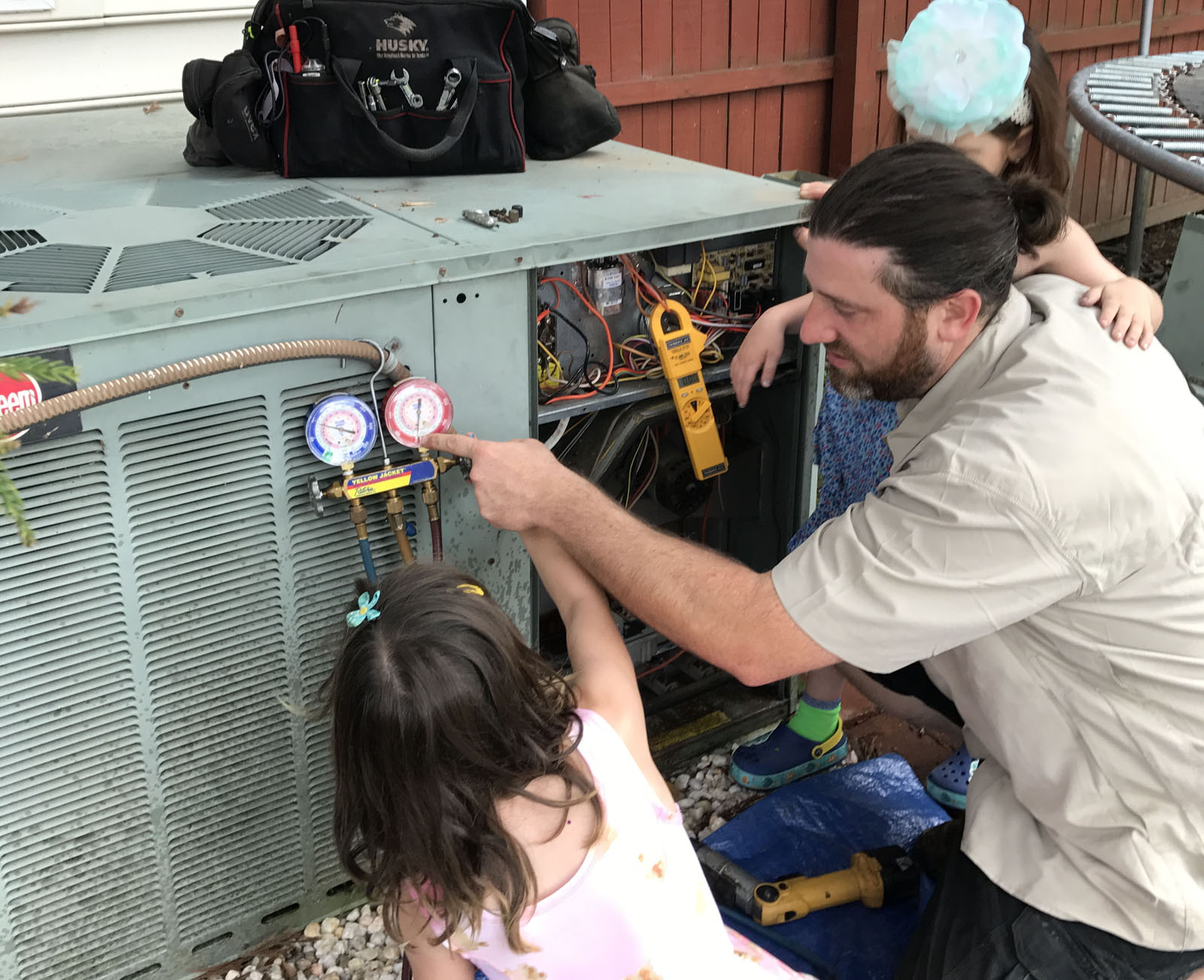 Rheem heating and air conditioning service
